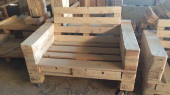 Comprar sillones de palets en m laga muebles de palets a Sillones individuales economicos