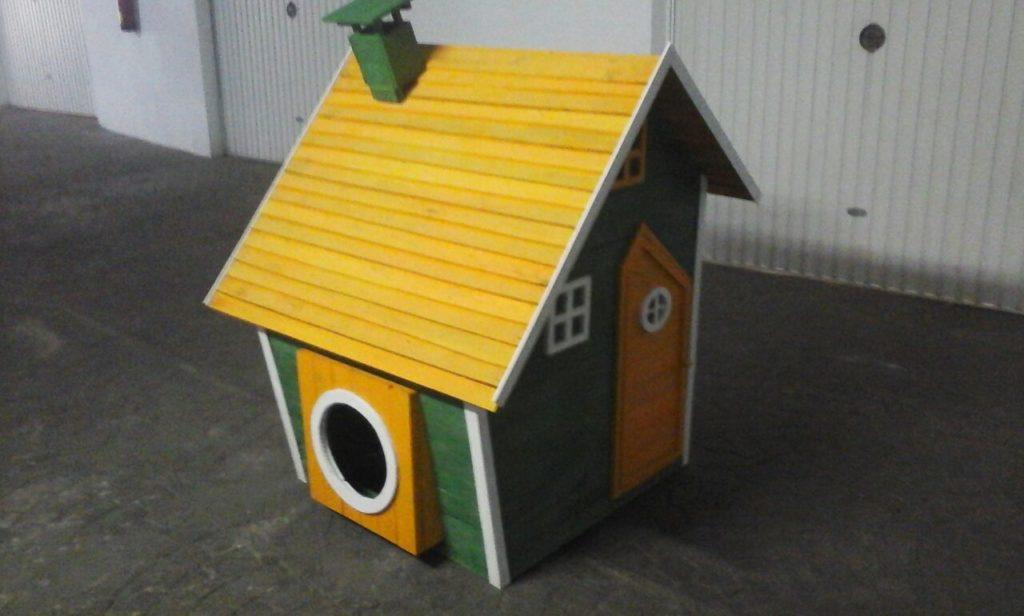 Muebles de palets para animales